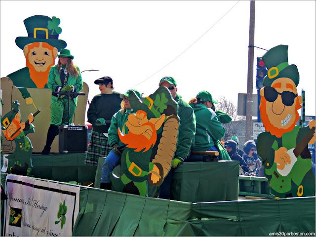 Desfile por Saint Patrick's Day en South Boston