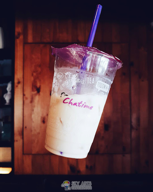 Floating Chatime - How to use your smartphone to do levitation photography?