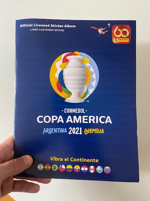 Copertina Album Copa America 2021