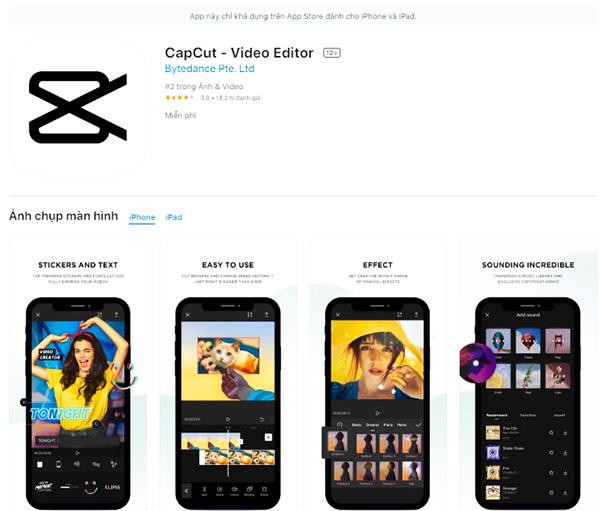 Tải CapCut Apk - App chỉnh sửa video cho Android miễn phí 1
