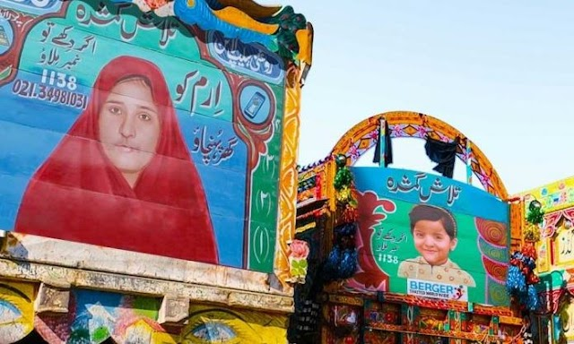 Here's How 7 Missing Children Were Recovered Using Truck Art