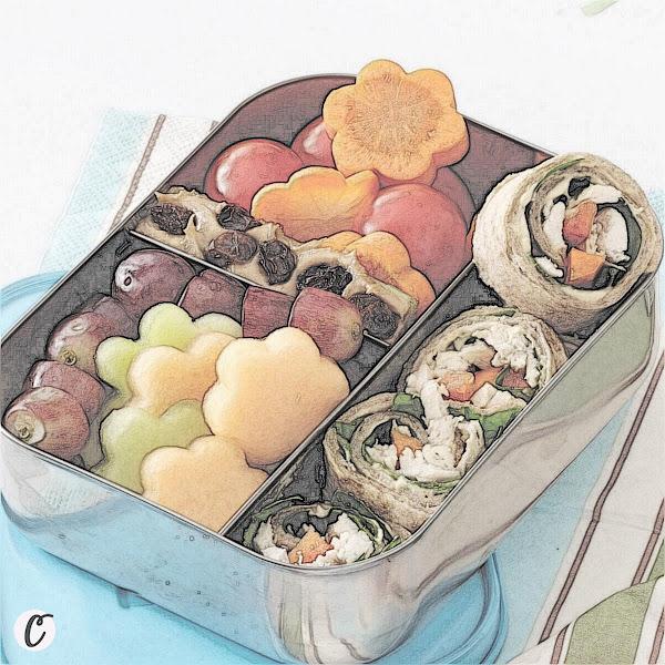 Lunch Box Chicken 🐔 Wrap