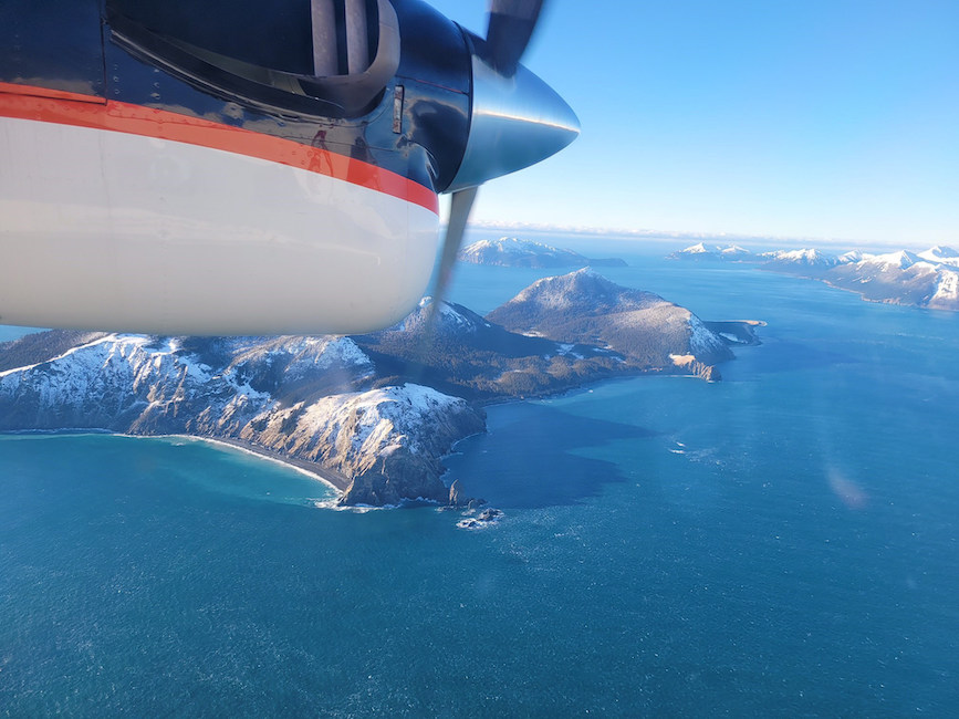 US Navy conduct airborne research in Alaska