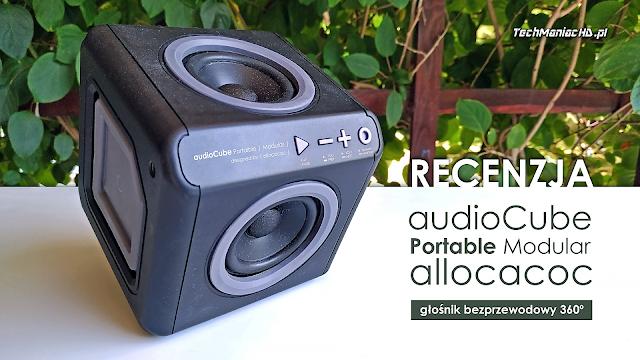 Allocacoc audioCube Portable Modular Black