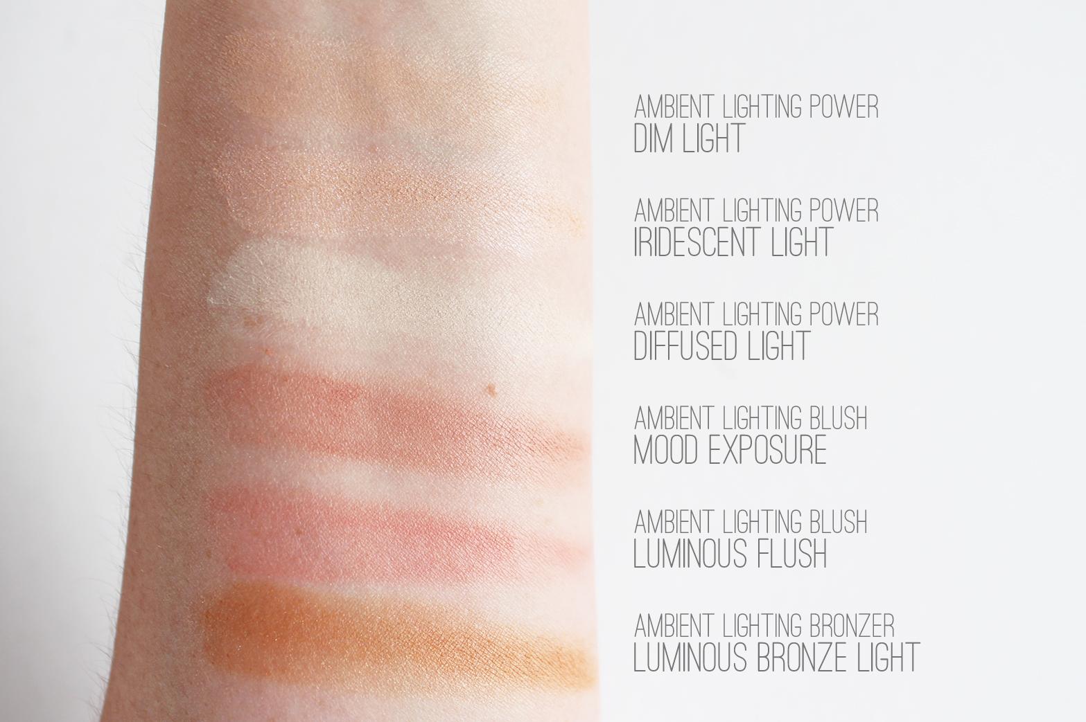 HOURGLASS   Ambient Lighting Edit - Review + Swatches - CassandraMyee