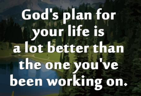 knowing God plan for your life