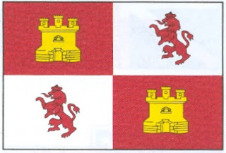 Bandera de España en las cinco banderas de Florida