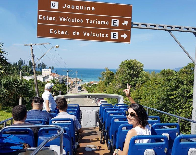 Florianópolis do aeroporto ao Centro e as praias