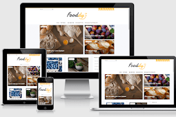 Fooddy Responsive Food Blogger Template Free Download