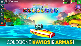Battle Bay apk mod movimento rápido