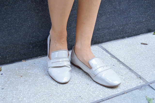H&M Nude Loafers