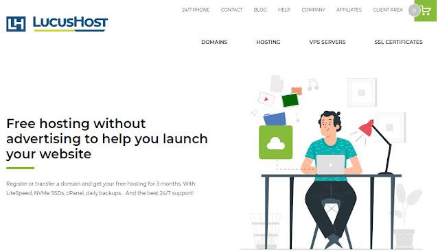 Free hosting Lucushost