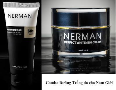 Một số lưu ý khi sử dụng kem trị mụn nerman dành cho nam giới.