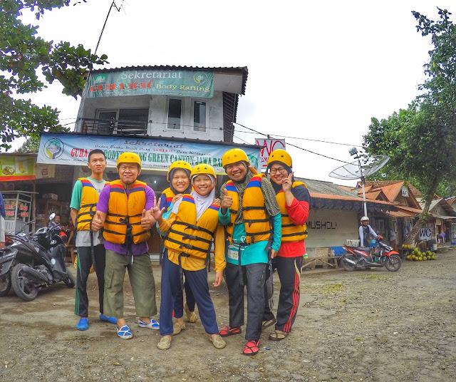 Lokasi Start Perjalanan Pertama Body Rafting
