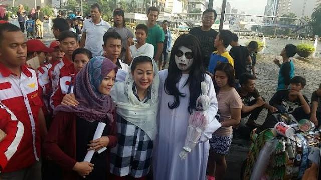 Ikut CFD, Wanita Emas Janjikan Warga Jakarta Olahraga Dua Kali Seminggu
