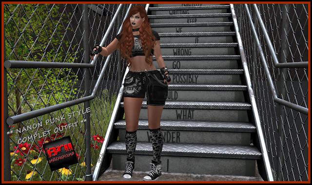RELEASE BRII **NANON PUNK STYLE COMPLET OUTFIT**