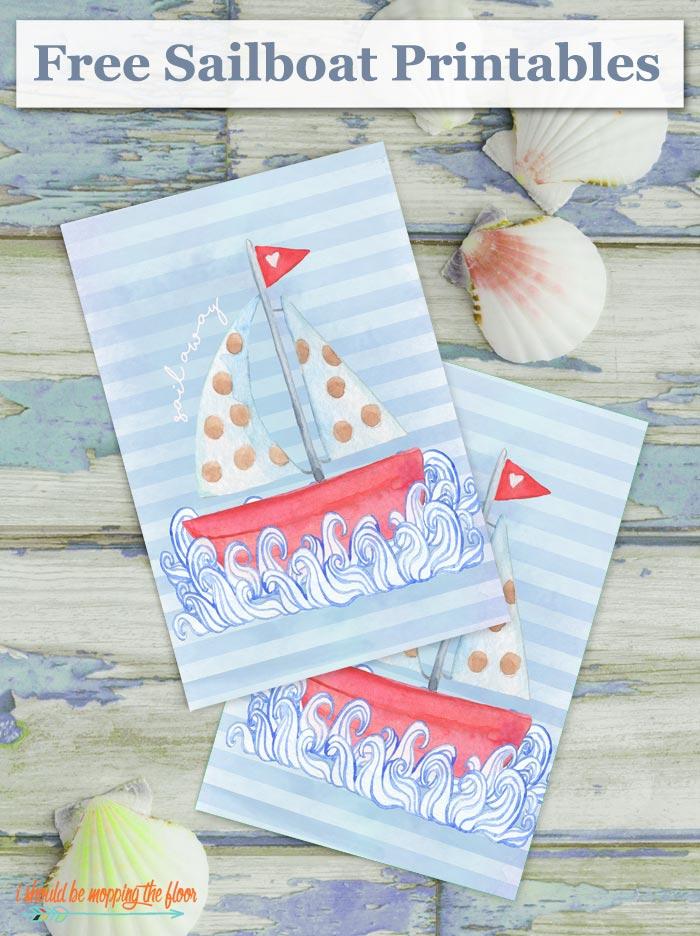 Printable Sailboat Art
