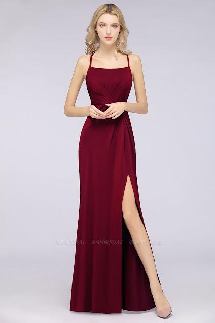 Mermaid Spandex Bridesmaid Dress