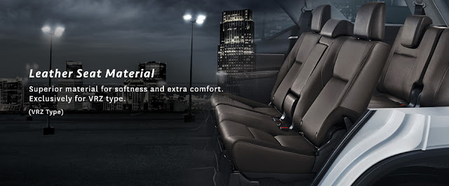 Leather Seat Toyota New Fortuner VRZ