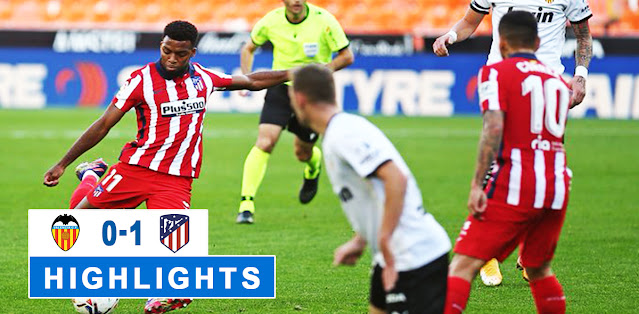 Valencia vs Atlético Madrid – Highlights