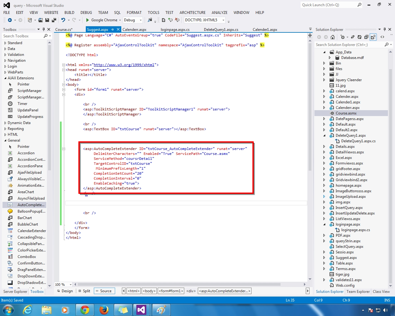 how to add calendar extender to textbox in asp.net c#