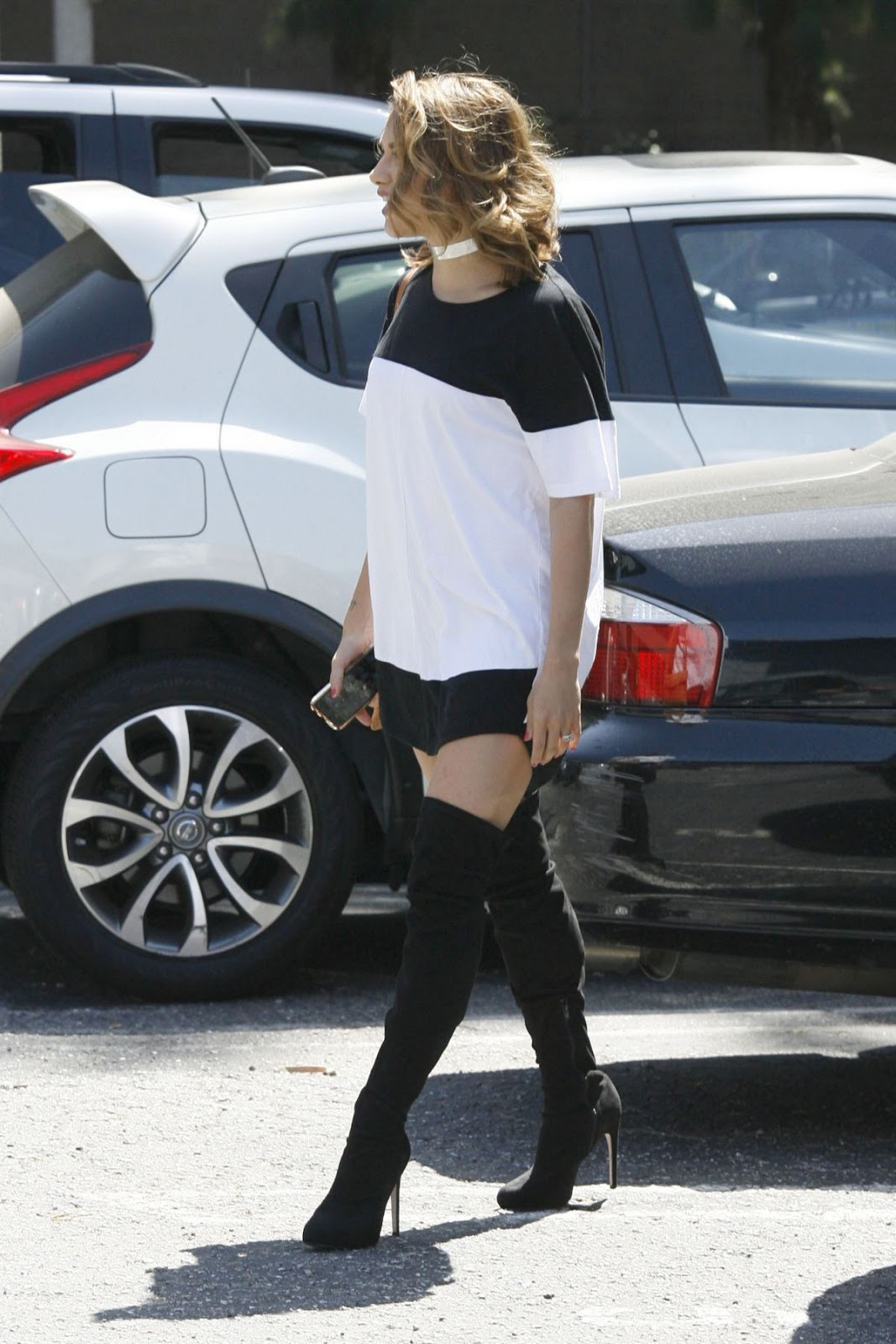 Photos of Allison Holjer Arrives At Dwts Studio In Los Angeles