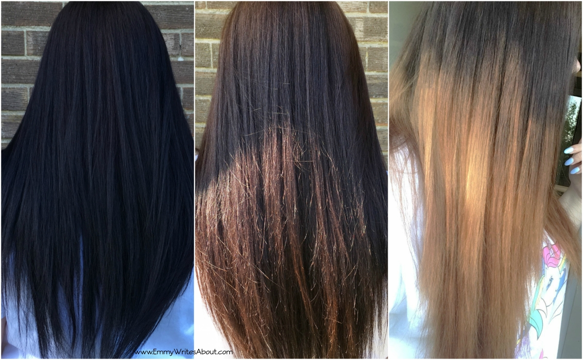 How I Turned My Black Hair To Ombre At Home Emmywritesabout