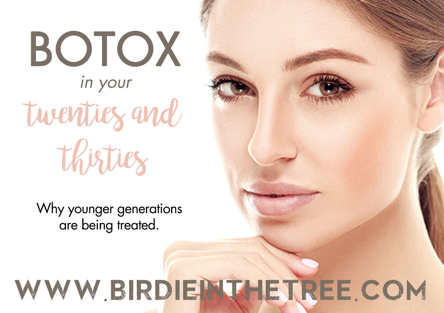 Little Birdie in The Tree: Botox: An Anti Aging Prevention