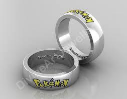 Pokemon Wedding Band