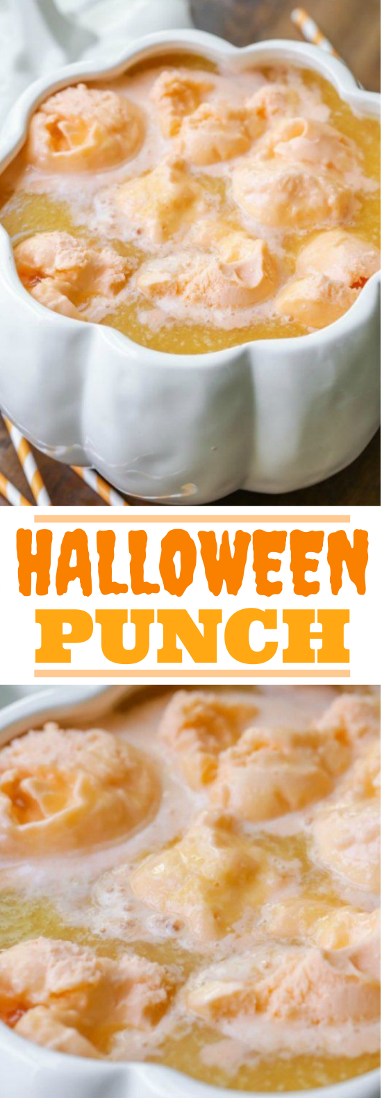 Easy Halloween Punch #drinks #party #halloween #kidfriendly #punch