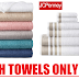 JCPenney Home Expressions Towels Sale: Bath Towel $2.09, Hand Towel $1.39, Washcloth $0.70 + Free Pickup at JCPenney