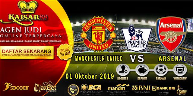 Prediksi Bola Terpercaya Liga Inggris Manchester United vs Arsenal 1 Oktober 2019