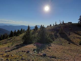 Exterior photo of the mountains.