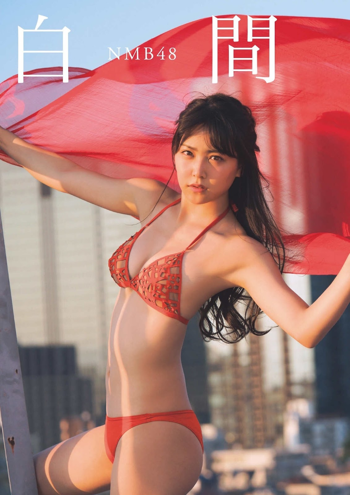 Shiroma Miru 白間美瑠, FLASH Special Gravure BEST 2017 End Summer