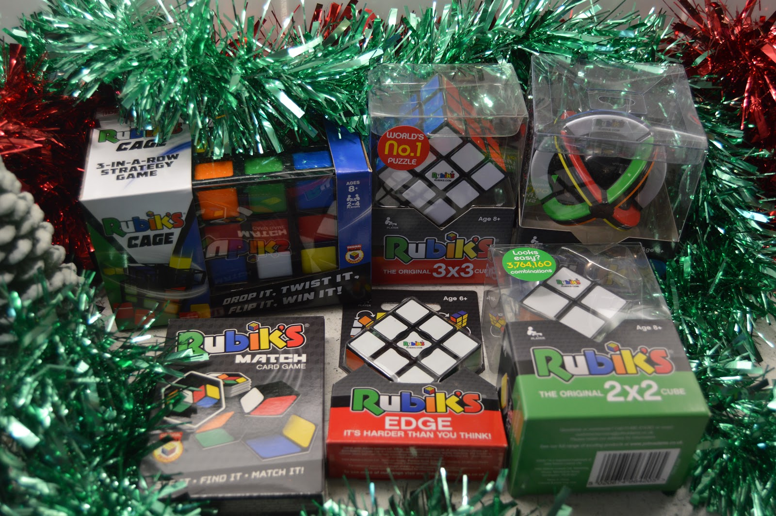 Selection Rubik's Cubes