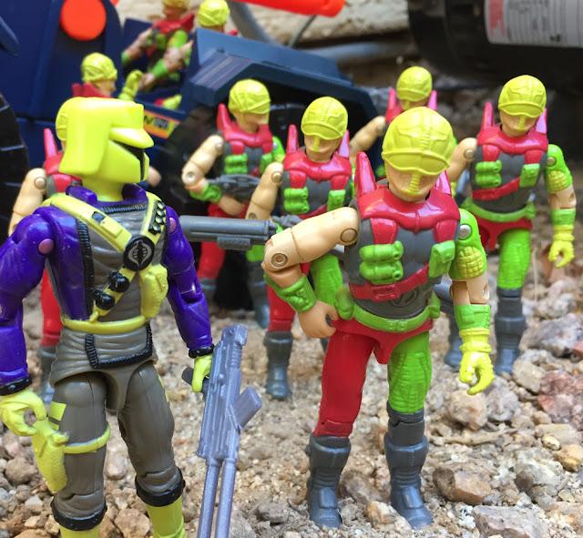 1993 Cyber Viper, Mega Marines, Detonator, Flak Viper, Interrogator, Mail Away