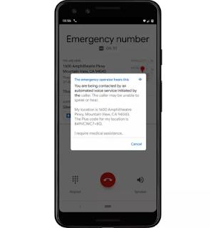 ستبدأ Google في استخدام تقنية تحويل النص إلى كلام لإجراء مكالمات الطوارئ على وحدات البكسل