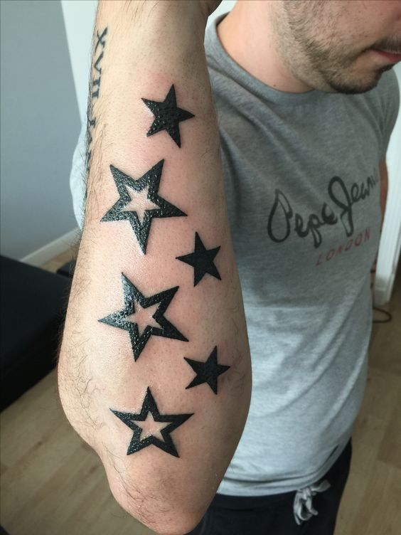 Star Tattoos for men