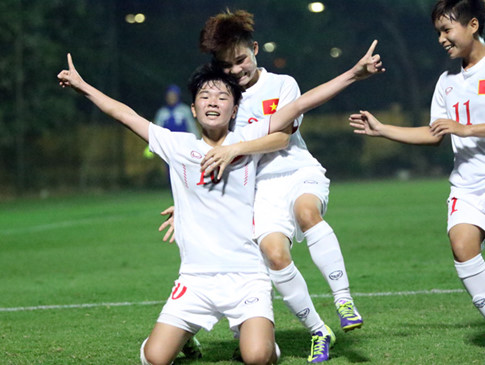 Tuyển nữ U.19 Việt Nam lọt vào vòng chung kết U.19 châu Á
