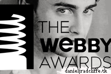 Updated: Daniel Radcliffe to present at the Webby Awards?