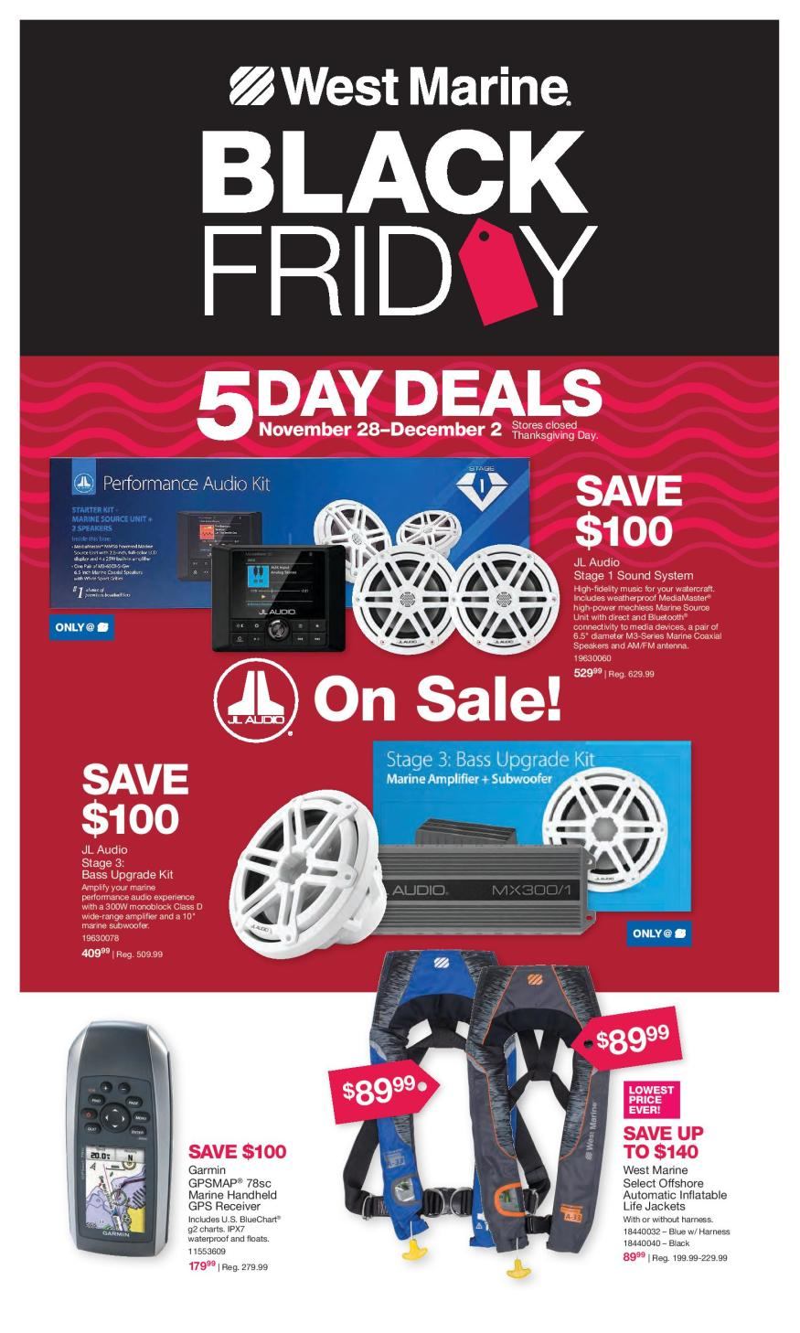 West Marine Black Friday 2019