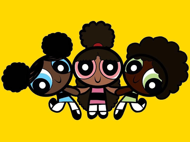 black powerpuff girls wallpaper