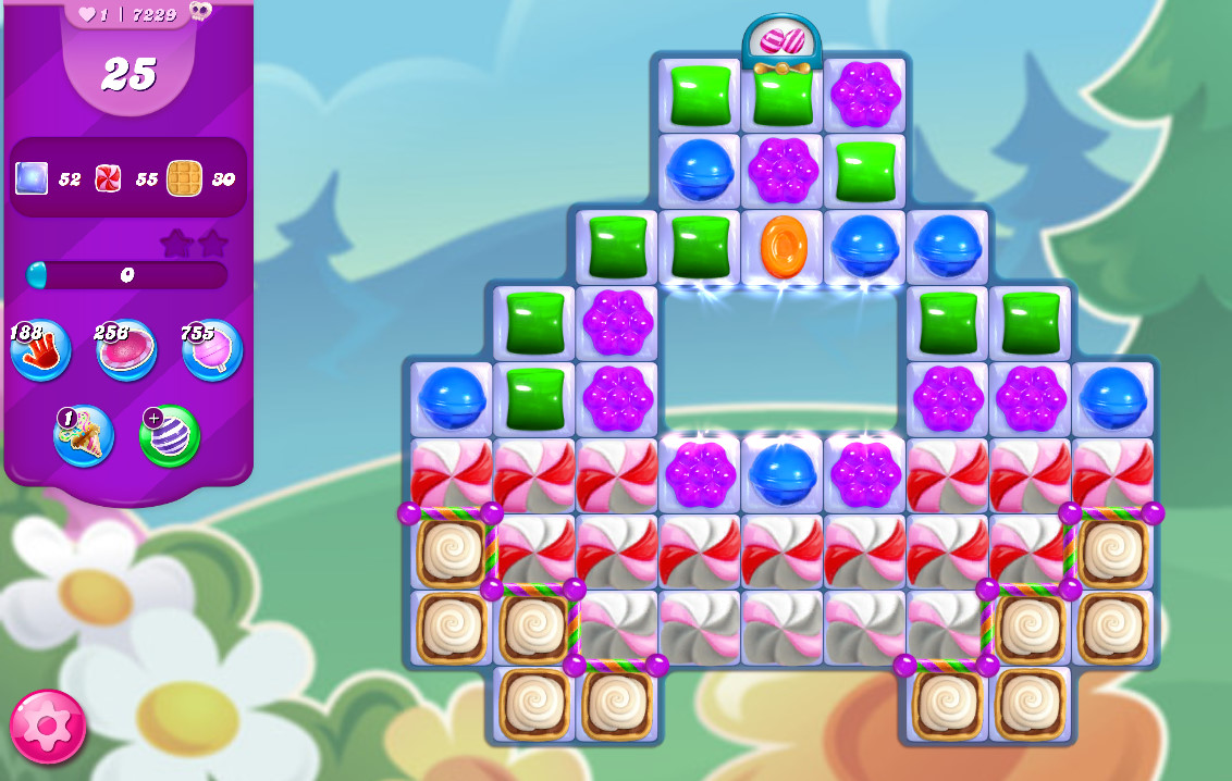 Candy Crush Saga level 7229