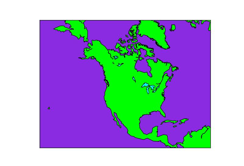 Map plotting using Basemap library | Machine Learning using
