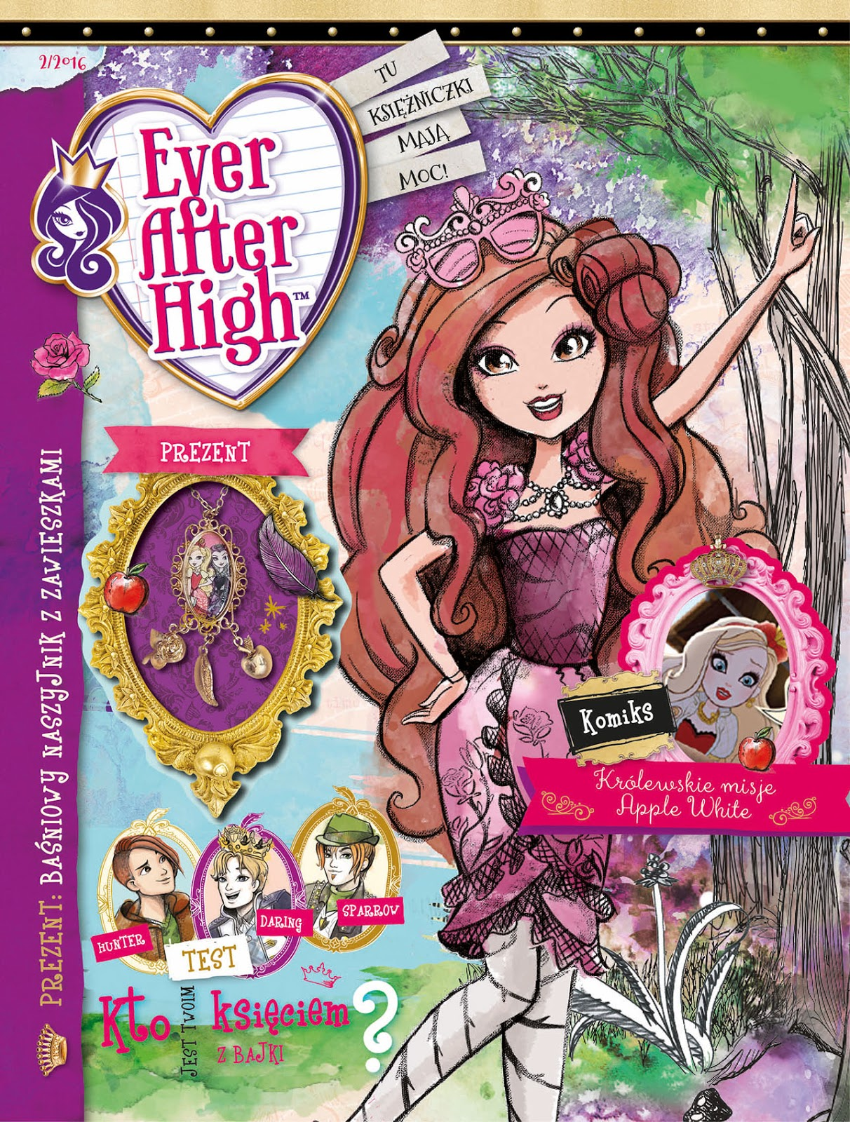 Ever After High Magazyn Eah