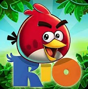 Angry Birds Rio Mega Mod Apk Unlimited PowerUps for Android