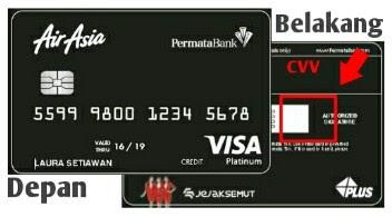kode cvv cvc kartu kredit permata