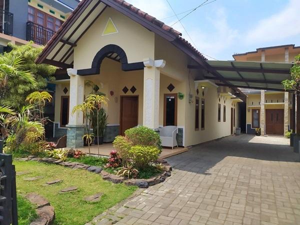 villa dekat bns model rumah