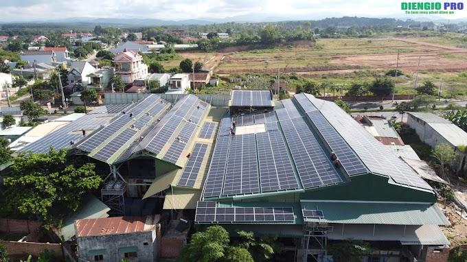 Hệ thống điện mặt trời 400kw tại Bà Rịa Vũng Tàu