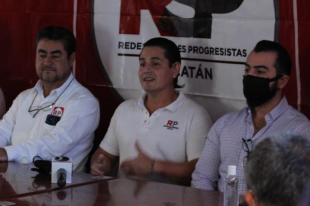 Vamos a ser gobierno en Yucatán, anticipa el nuevo partido Redes Sociales Progresistas. Foto Antonio Sánchez